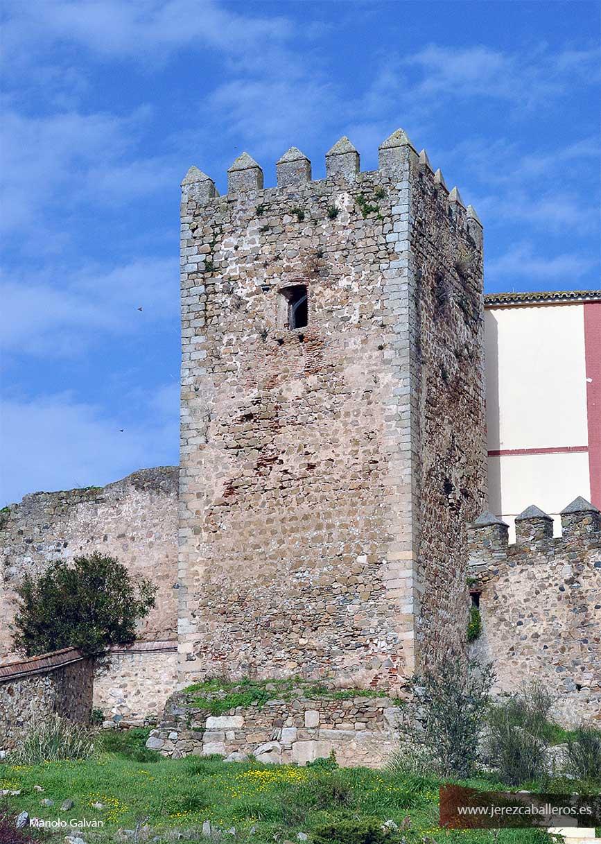 Torre interior de la Alcazaba