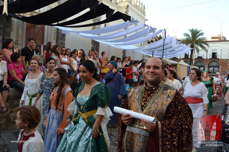 El XIII Festival templario de Jerez de los Caballeros invita a propios y visitantes a revivir un pasado de leyenda del 7 al 10 de julio