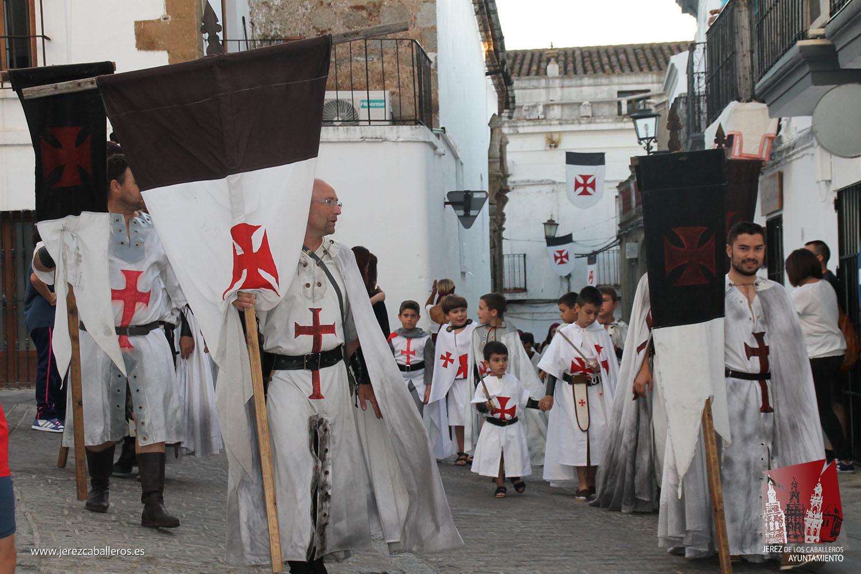 Jerez de los Caballeros participa ya de su pasado más esplendoroso con la celebración de su XIII Festival templario