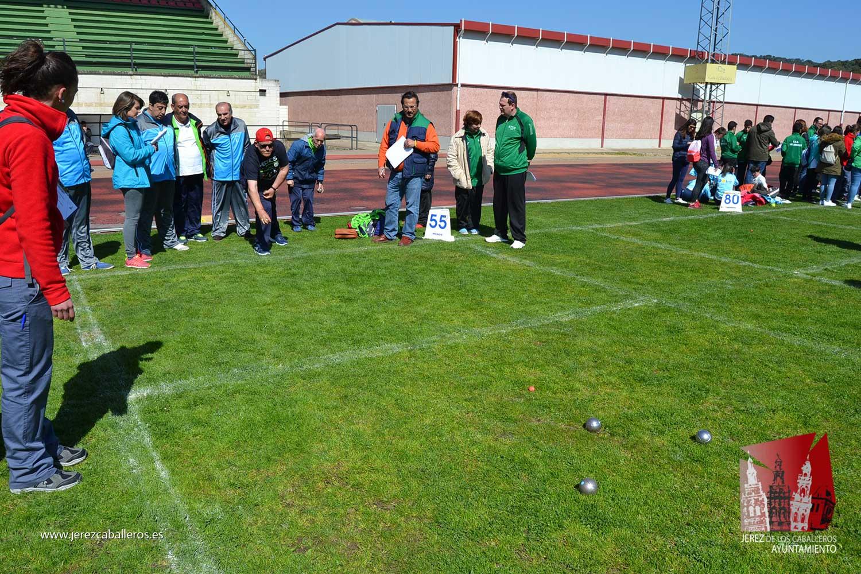 Unas 600 personas participan en Jerez de los Caballeros en una de las eliminatorias previas de los JEDES