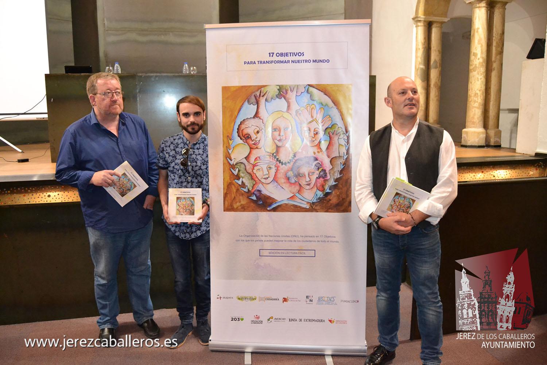 """El Ayuntamiento de Jerez de los Caballeros apoya la difusión del proyecto """"Objetivos de Desarrollo Sostenible"""""""