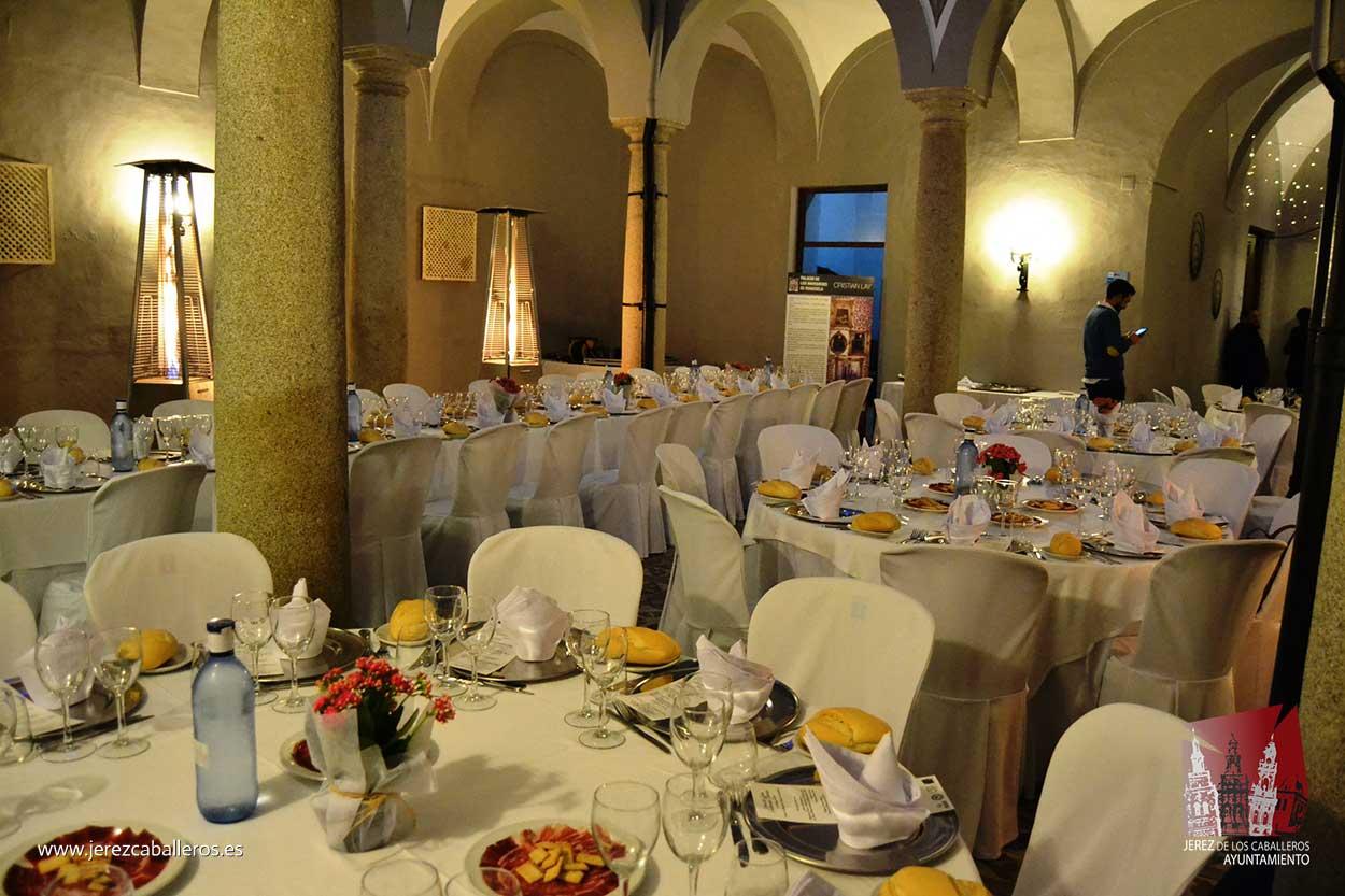 Excelente acogida de la Cena de Gala organizada en el marco del XXIX Salón del Jamón Ibérico de Jerez de los Caballeros