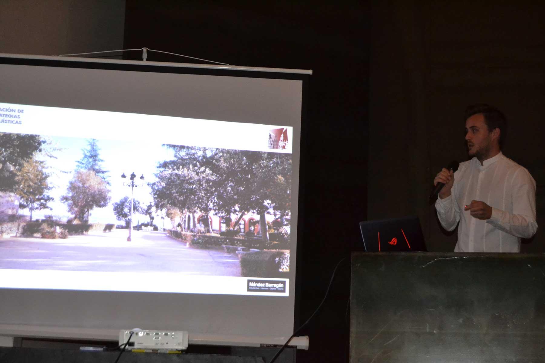 El arquitecto jerezano José María Méndez concibe un parque de Santa Lucía útil, vital y para disfrute de todos