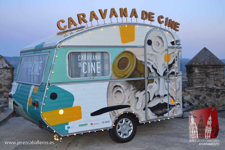 El proyecto 'Caravana de cine' hace parada en Jerez de los Caballeros