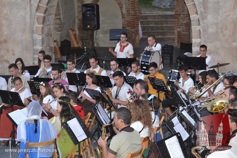 'La música del Temple' pone el broche al XV Festival Templario