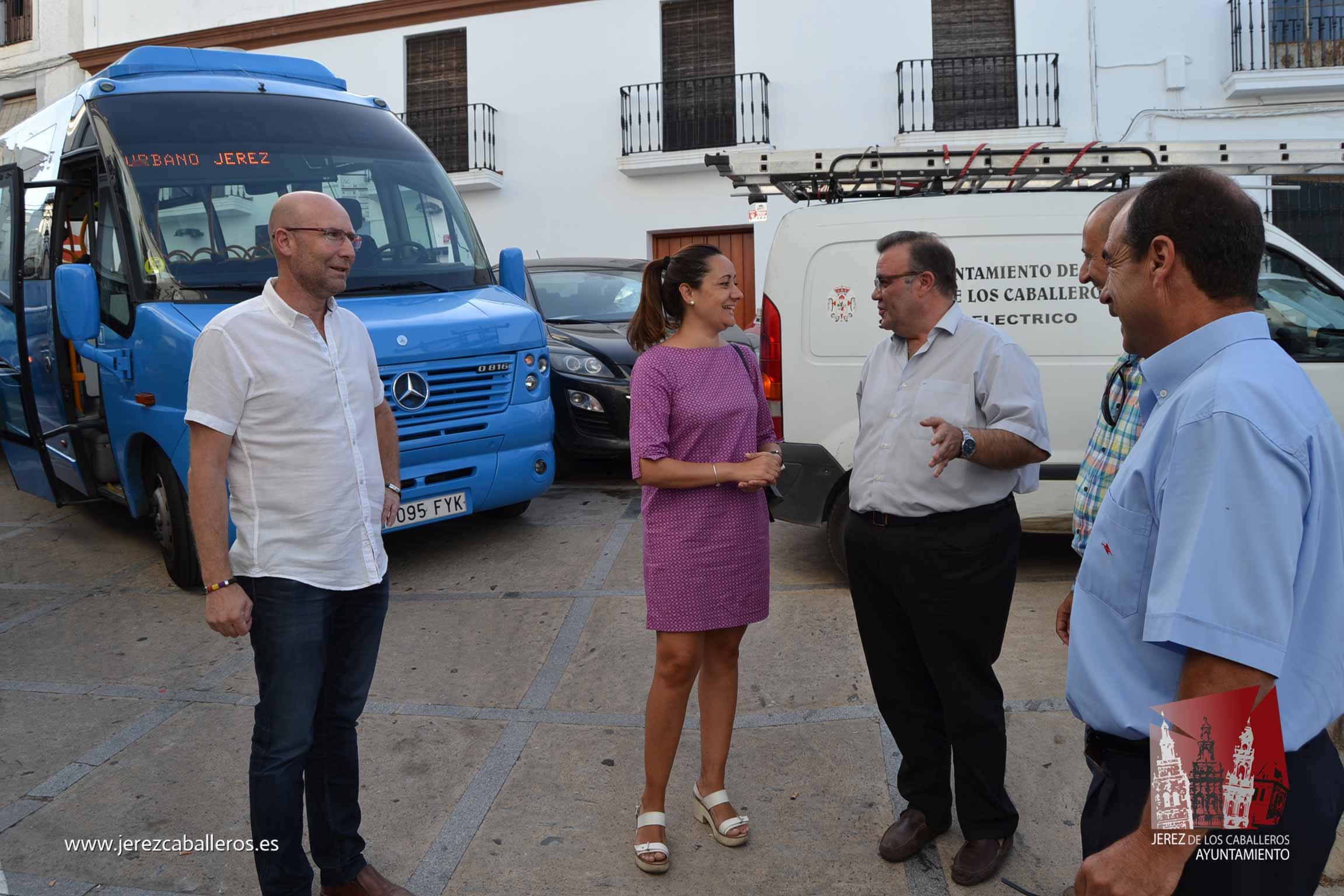 Jerez recupera el servicio del Bus Urbano