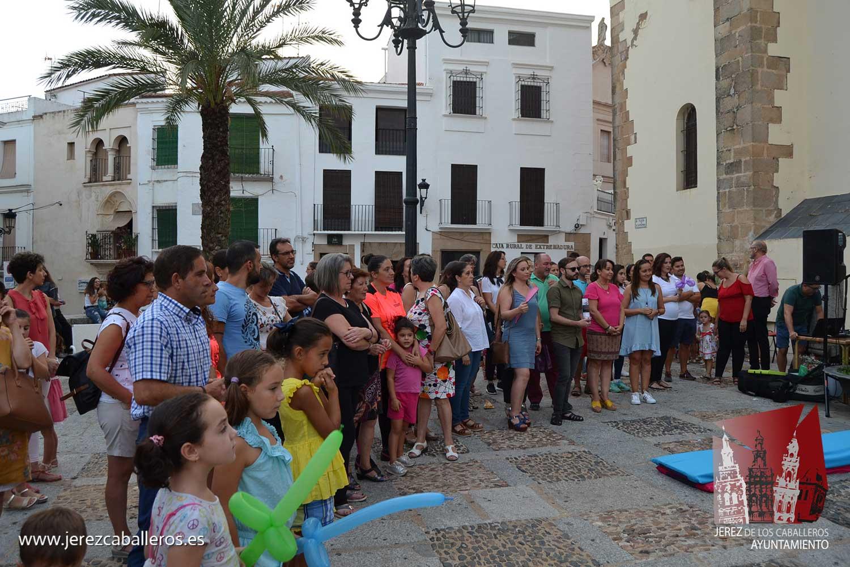 Jerez de los Caballeros conmemoró el Dial Mundial del Alzehimer