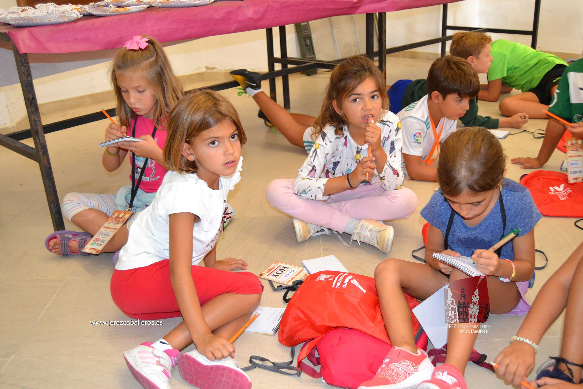 Los más pequeños conocen la riqueza gastronómica de Jerez de los Caballeros, una ciudad con vocación turística