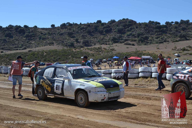 Víctor Vicente Álvarez ganador del 36 Autocross 'Ciudad Jerez de los Caballeros'