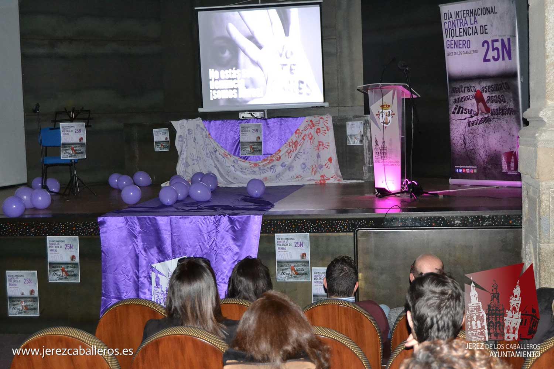 Ayer se iniciaron la actividades conmemorativas del 25N, Día Internacional contra la Violencia de género