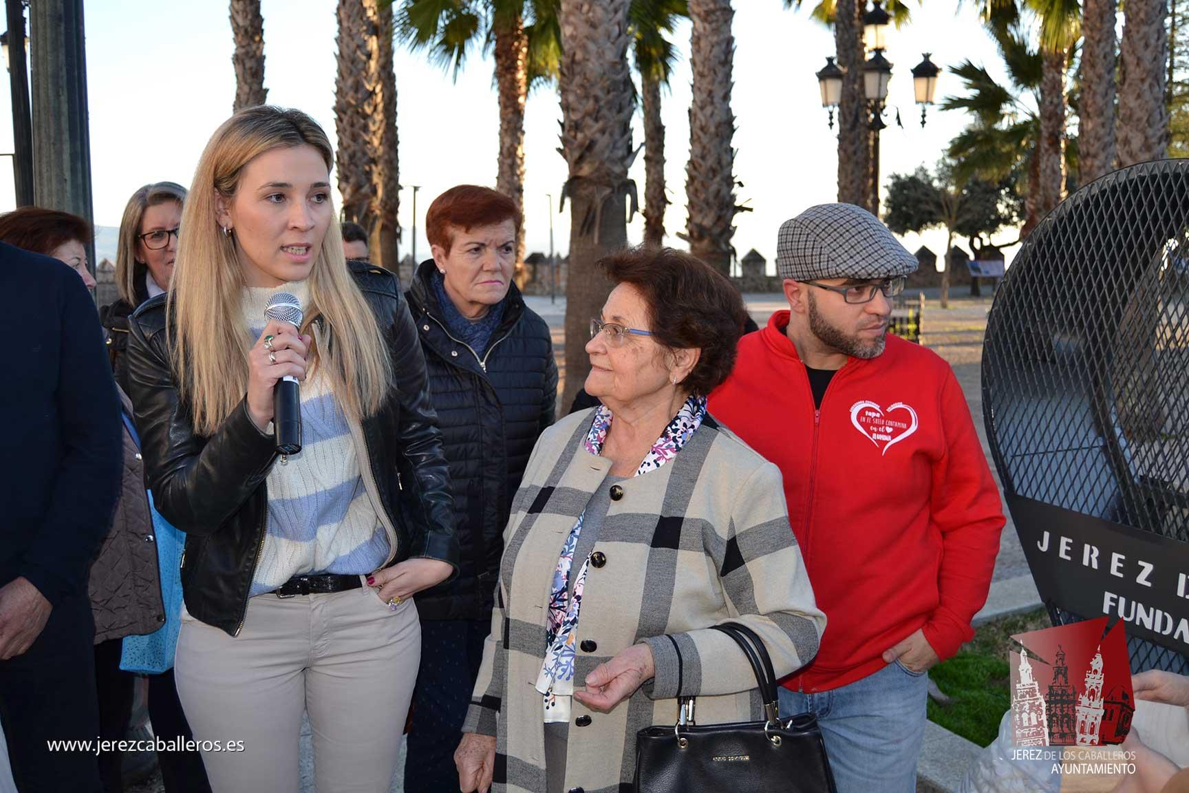 """Jerez de los Caballeros cuenta ya con su primer """"Corazón solidario"""""""