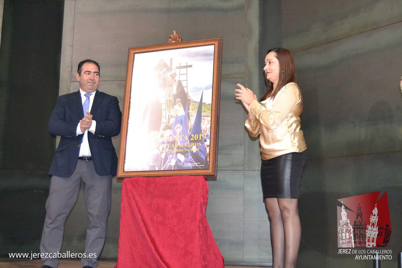 El  impresionante Paso de 'El Descendimiento', de la Cofradía de Nuestro Padre Jesús Nazareno, protagoniza el cartel de la Semana Santa Jerezana 2019