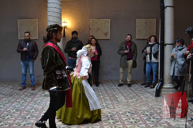 """El sainete, """"Brindis con la marquesa maridó el humor y la diversión con el cava de Extemadura"""