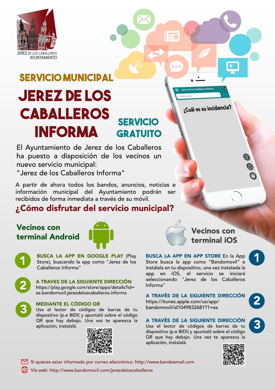 El Ayuntamiento pone en marcha un servicio de información gratuito a través de una aplicación móvil