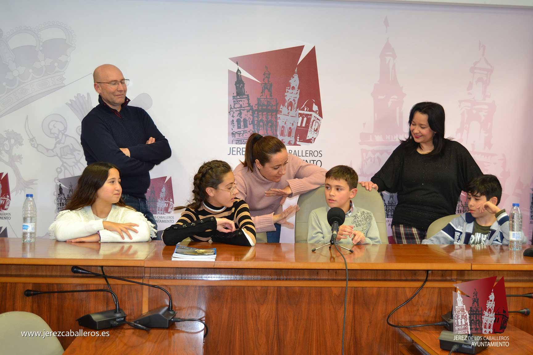 El Ayuntamiento felicita al jerezano Sergio José Sánchez Pérez por su Premio Mejor Lector Internacional
