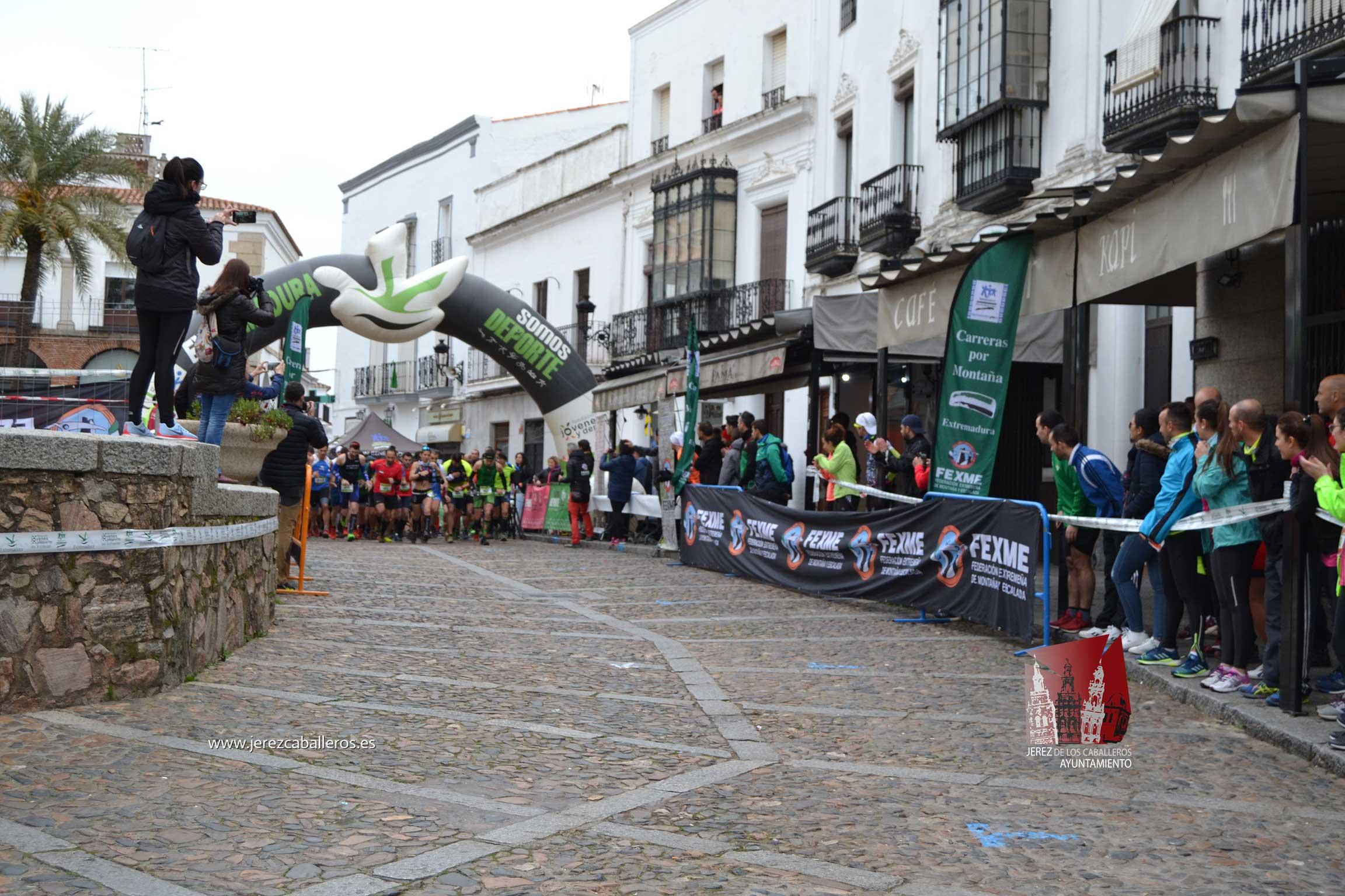 Daniel Remón Señorán y Beatriz González Suárez vencedores del I Trail Jerez de los Caballeros-Sierra San José celebrada este domingo