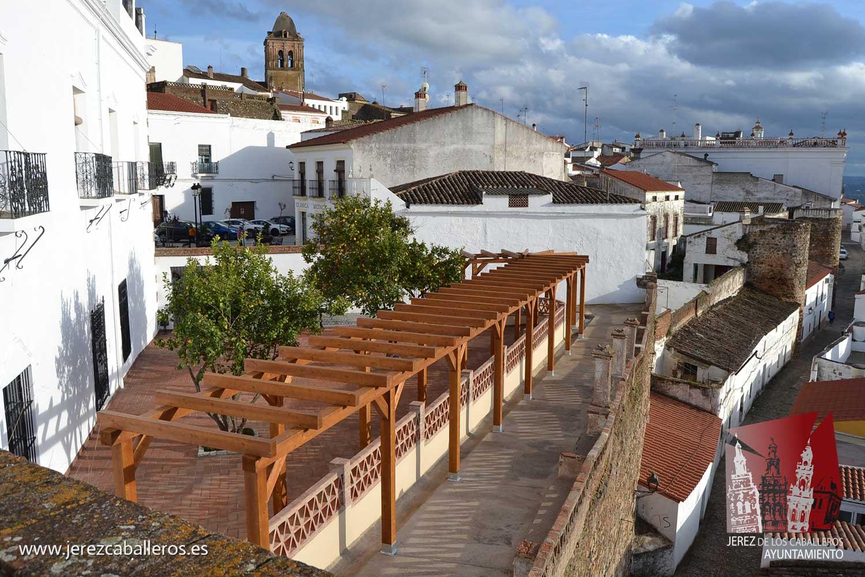 El Mirador de San Agustín abre sus puertas como nuevo espacio para disfrutar de espectaculares vistas de Jerez de los Caballeros