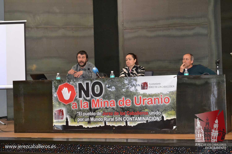 """Jerez de los Caballeros dice """"NO"""" a la mina de uranio de la finca Cabra Alt"""
