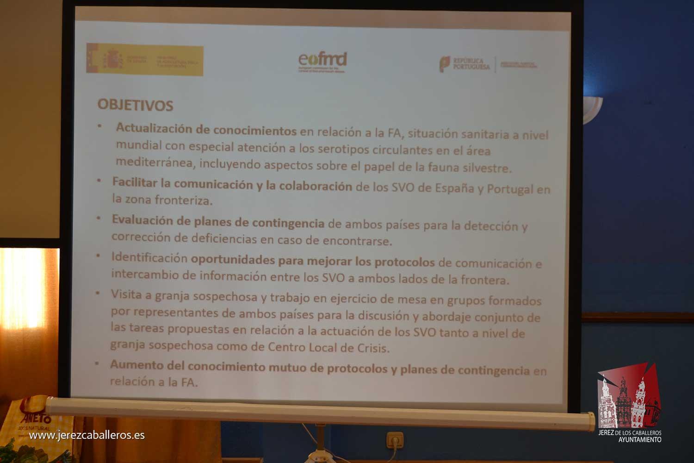 Jerez de los Caballeros acoge un simulacro sobre Fiebre aftosa con la participación de más de 70 veterinarios de España y Portugal