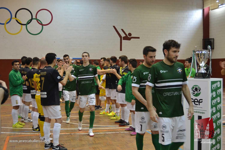 El Jerez Futsal revalida su título de campeón de la Copa de Extremadura