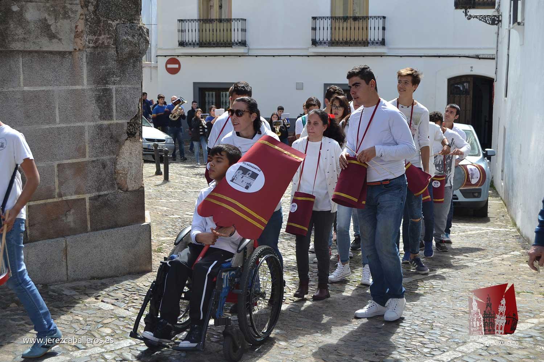 El Colegio Sotomayor y Terrazas ensalza los sones de la Semana Santa con su III Certamen escolar de bandas