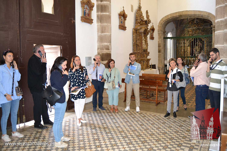 La parroquia de Jerez pone en marcha un proyecto para impulsar la visita de turistas a los principales monumento del arte sacro en esta ciudad