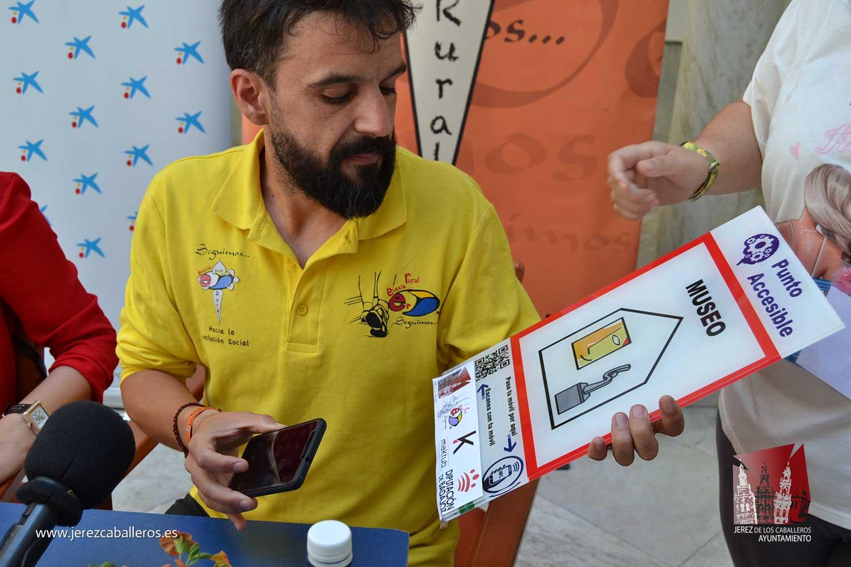 Euexia Rural emprende un proyecto para la creación de una Guía de Accesibilidad cognitiva e itinerarios adaptados en Jerez de los Caballeros