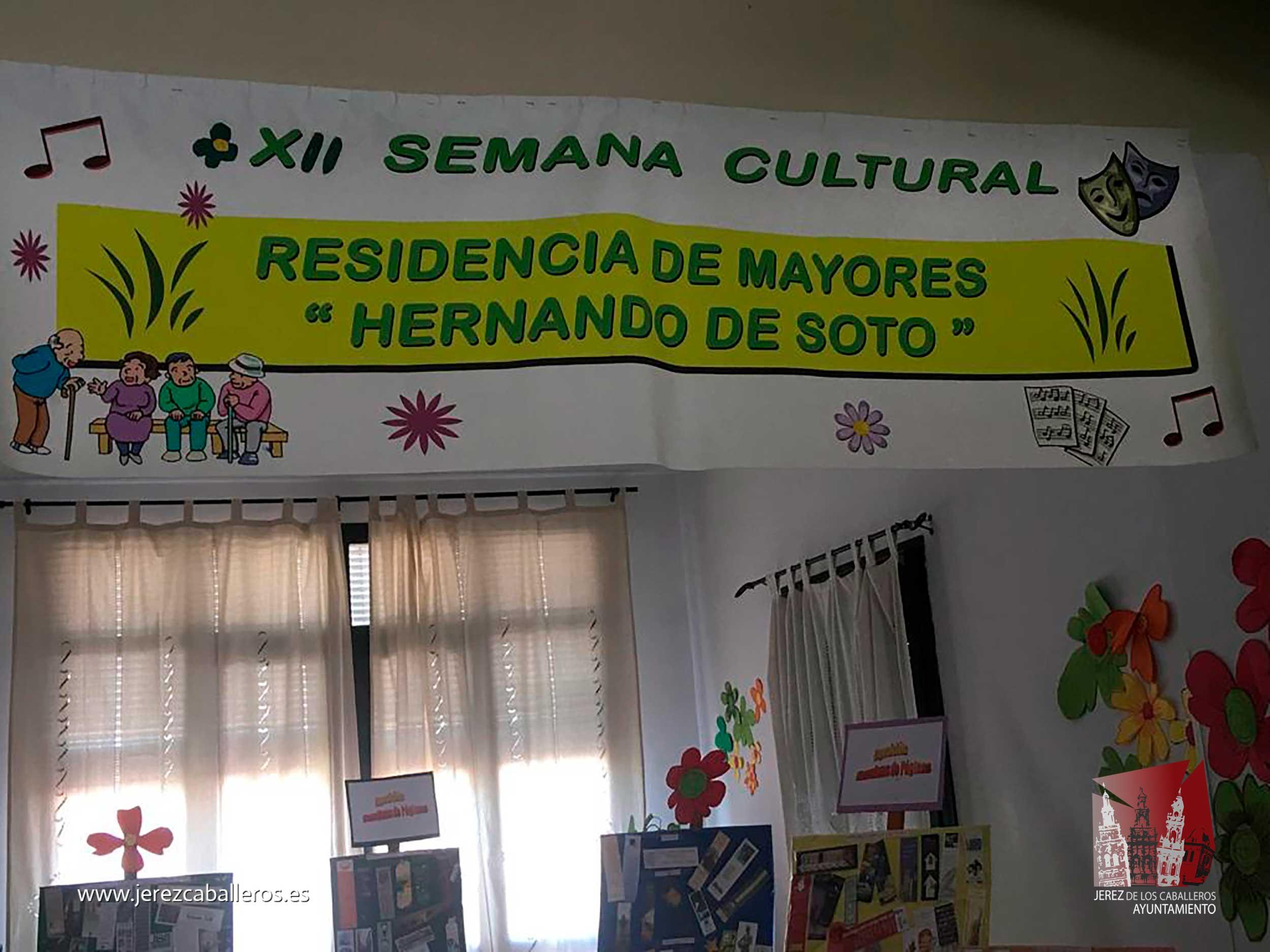 La Residencia Hernando de Soto celebra su XII Semana Cultural, con exposiciones, visitas turísticas o actuaciones musicales entre otras actividades