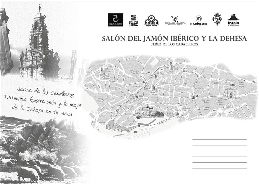Mantel Salón del Jamón Ibérico y la Dehesa