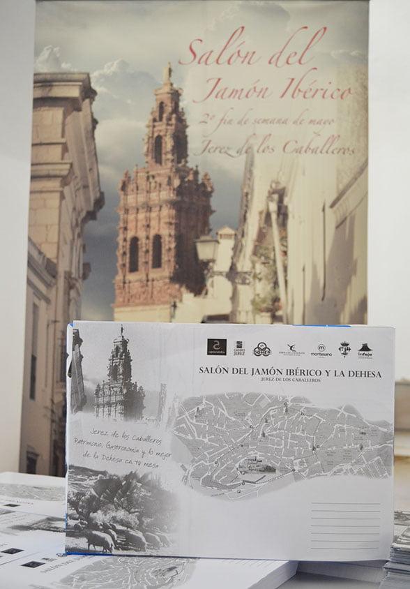 Mantel promoción Salón del Jamón Ibérico y la Dehesa