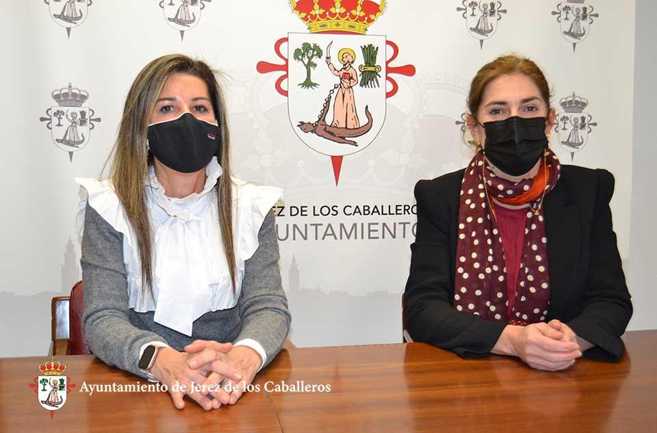 Inma Cumbreño e Isabel Álvarez
